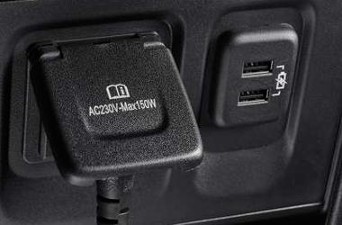 220V 인버터 및 듀얼 USB이미지