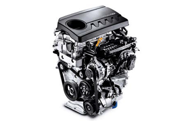 가솔린 1.4 터보 엔진이미지