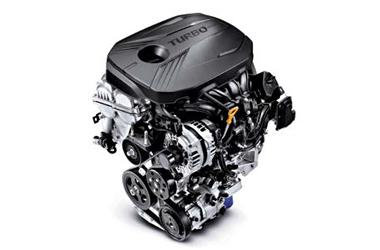 가솔린 1.6 터보 엔진이미지