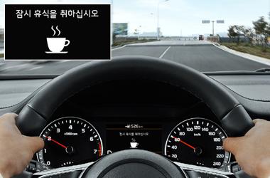 운전자 주의 경고 (DAW)