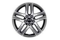 225/45R17 타이어&전면가공 알로이 휠