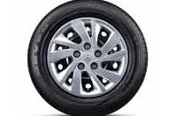 195/65R15 타이어 & 15인치 스틸 휠 & 휠 커버이미지