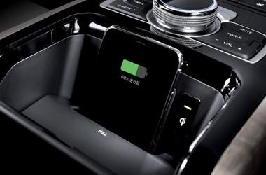 뒷좌석 스마트폰 무선충전 시스템