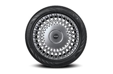 245/45R19(앞) & 275/40R19(뒤) 콘티넨탈 타이어 & 19인치 디쉬 타입 휠이미지