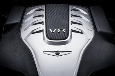 타우 5.0 V8 GDi 엔진이미지