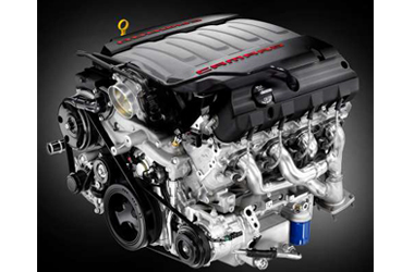 6.2 V8 엔진이미지