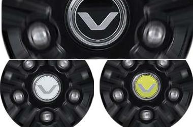 [TUIX] 스피닝 휠 캡(블랙/화이트/옐로우)