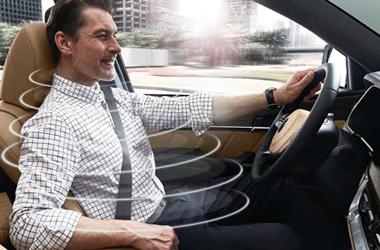 운전석 자동 쾌적 제어 시스템이미지