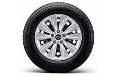 16인치 스틸 휠 & 215/65R 16 타이어이미지