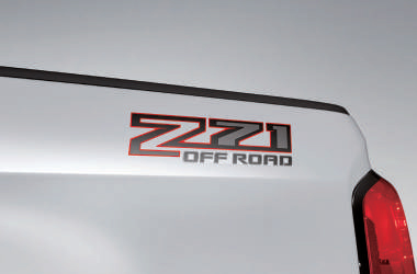 Z71 Off-Road 데칼이미지
