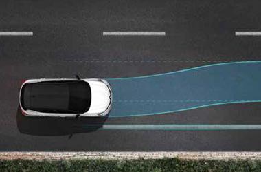 차선이탈 방지 보조 시스템(LKA)이미지