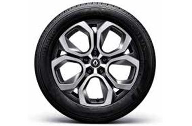 18인치 투톤 알로이 휠 & 215/55 R18 타이어이미지