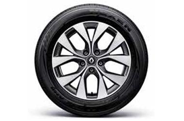 17인치 투톤 알로이 휠 & 215/60 R17 타이어이미지
