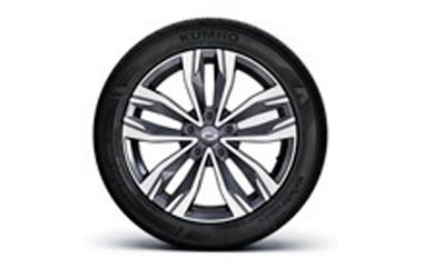 18인치 투톤 알로이 휠 245/45 R18 타이어