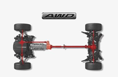 AWD (전자식 사륜구동 시스템)이미지