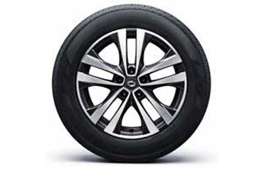 18인치 투톤 알로이 휠 & 225/60 R18 타이어이미지