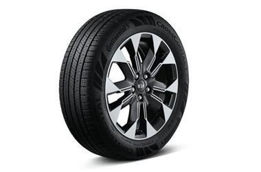 235/55 R19 타이어 & 전면가공 휠이미지