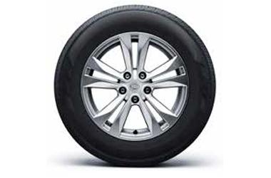 17인치 알로이 휠 & 225/65 R17 타이어이미지